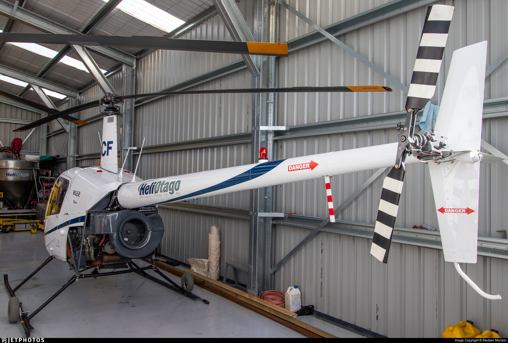 ZK-HCF - Robinson R22 Beta - Helicopters Otago