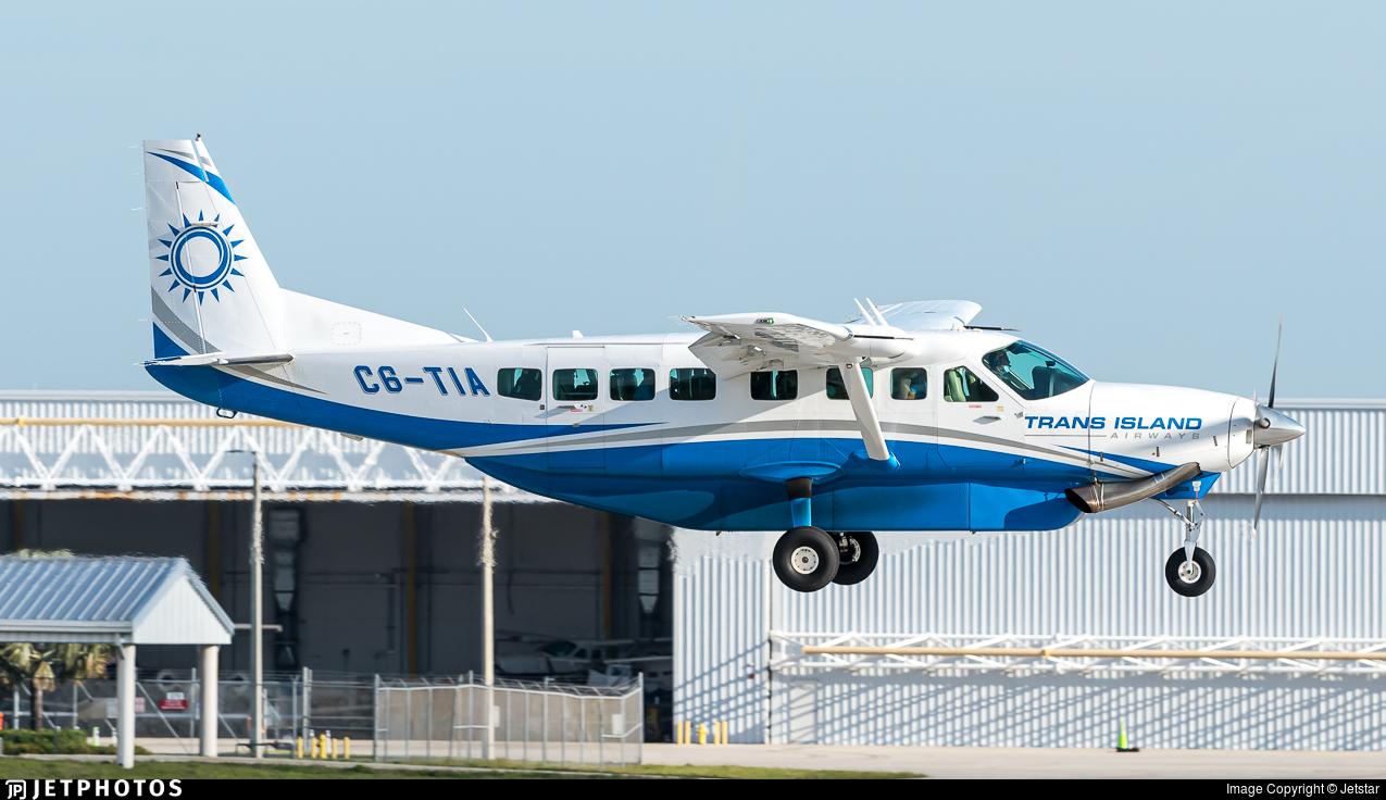 C6-TIA - Cessna 208B Grand Caravan EX - Trans Island Airways