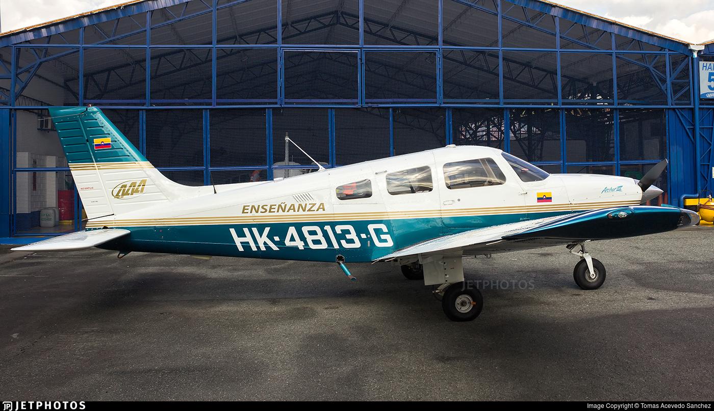 HK-4813-G - Piper PA-28-181 Archer III - Academia Antioqueña de Aviación (AAA)
