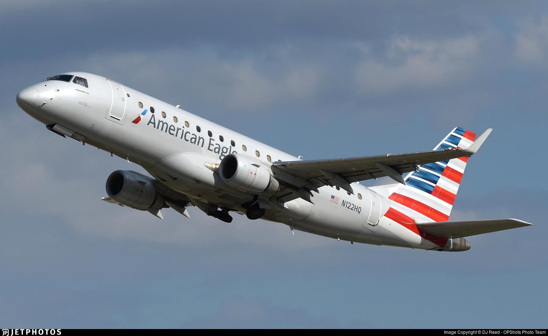 N122HQ - Embraer 170-200LR - American Eagle (Republic Airways)