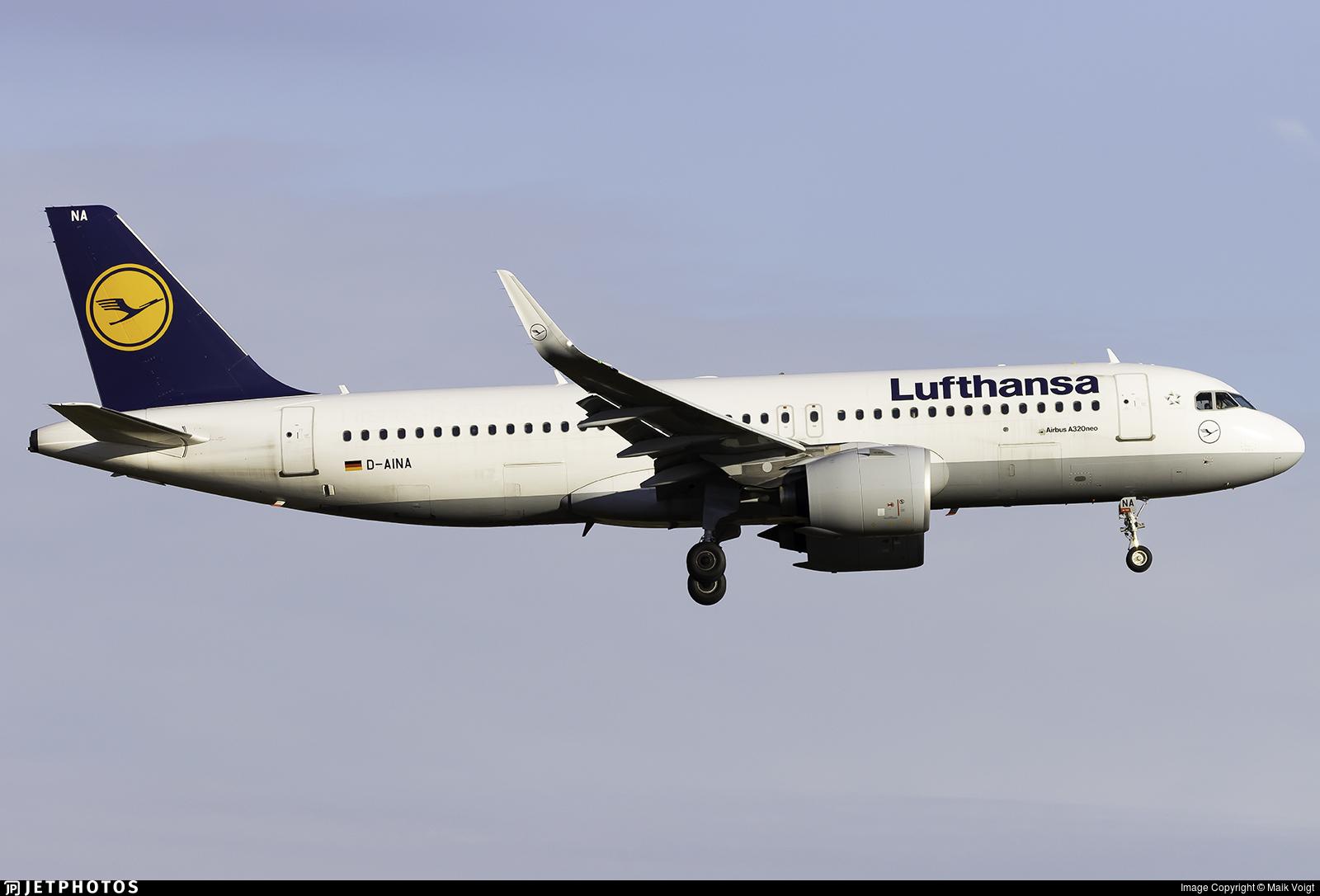 D-AINA - Airbus A320-271N - Lufthansa