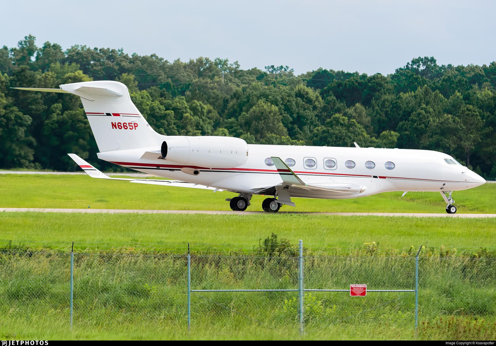 N665P - Gulfstream G600 - Private
