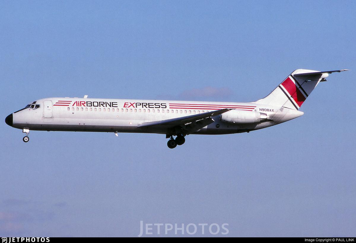 N908AX - McDonnell Douglas DC-9-31 - Airborne Express