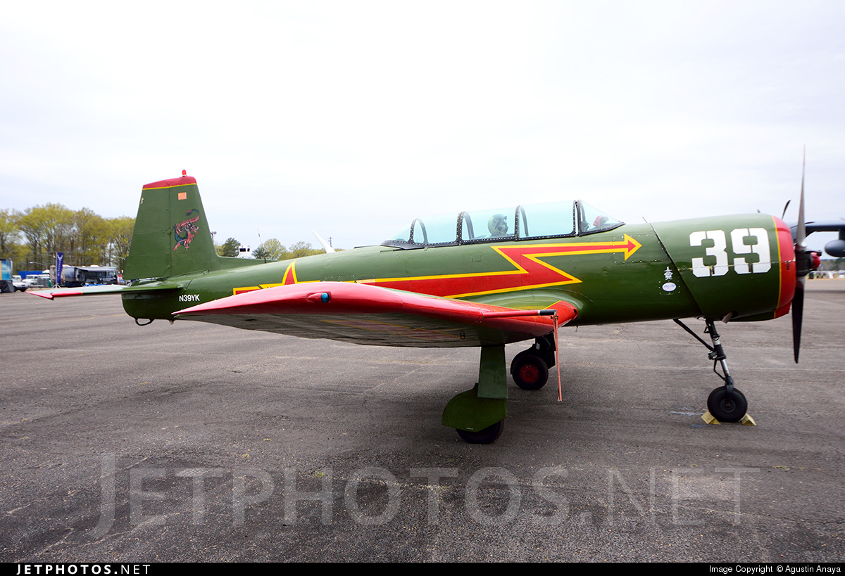 N39YK - Nanchang CJ-6 - Private