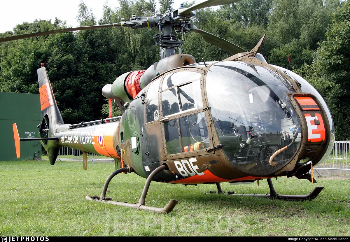 1193 - Aérospatiale SA 341F Gazelle - France - Army