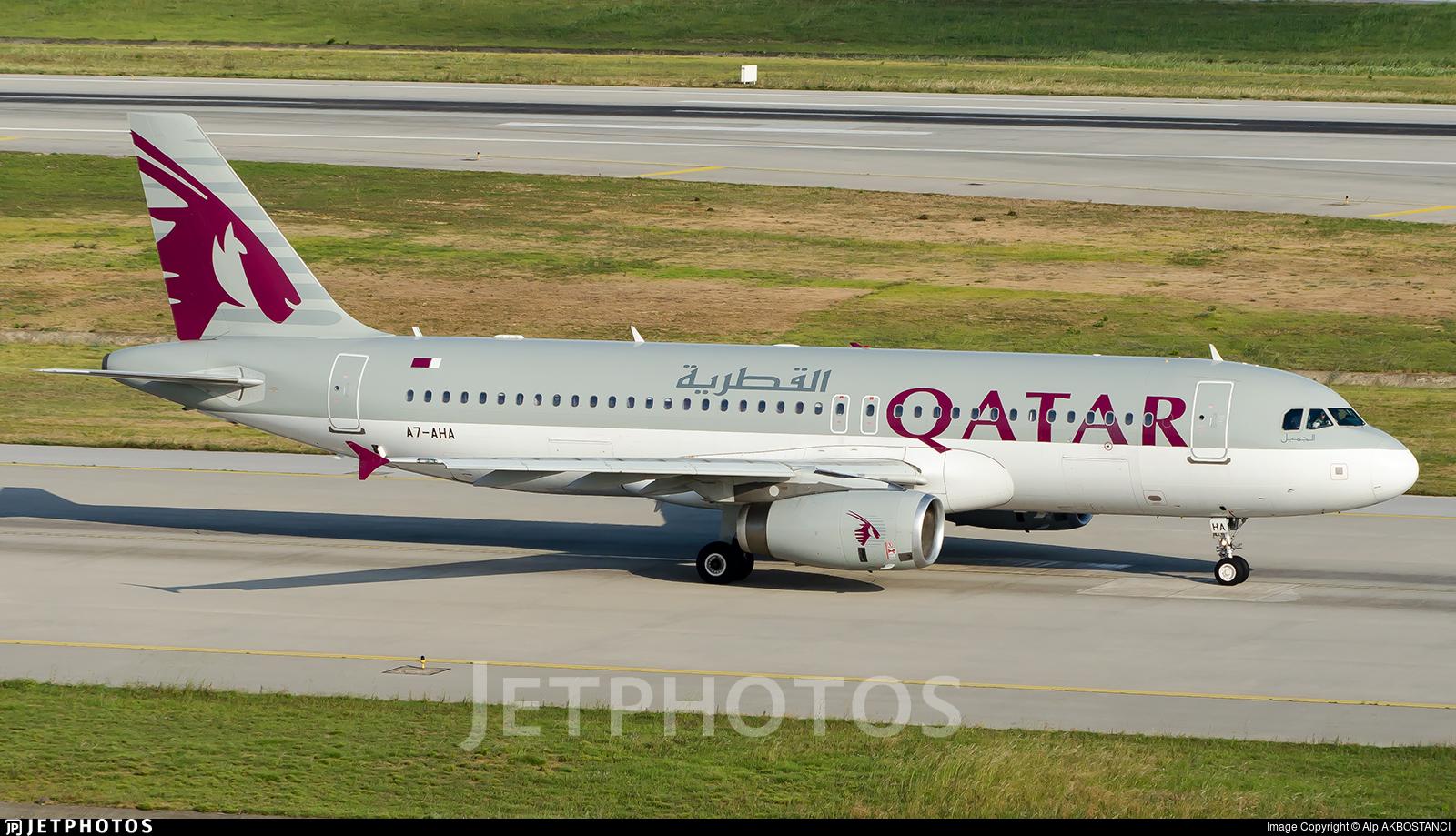 A7-AHA - Airbus A320-232 - Qatar Airways