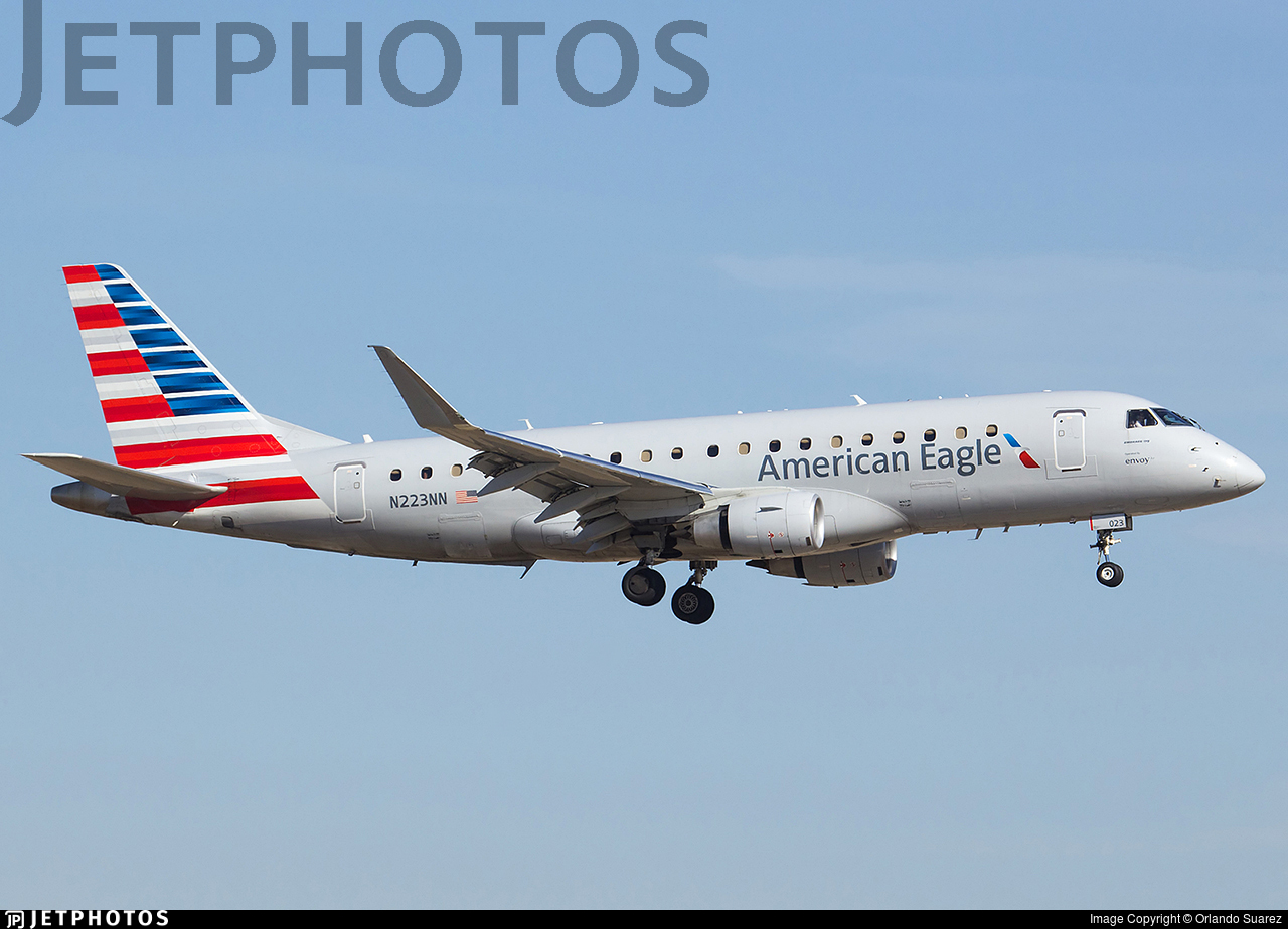 N223NN - Embraer 170-200LR - American Eagle (Envoy Air)