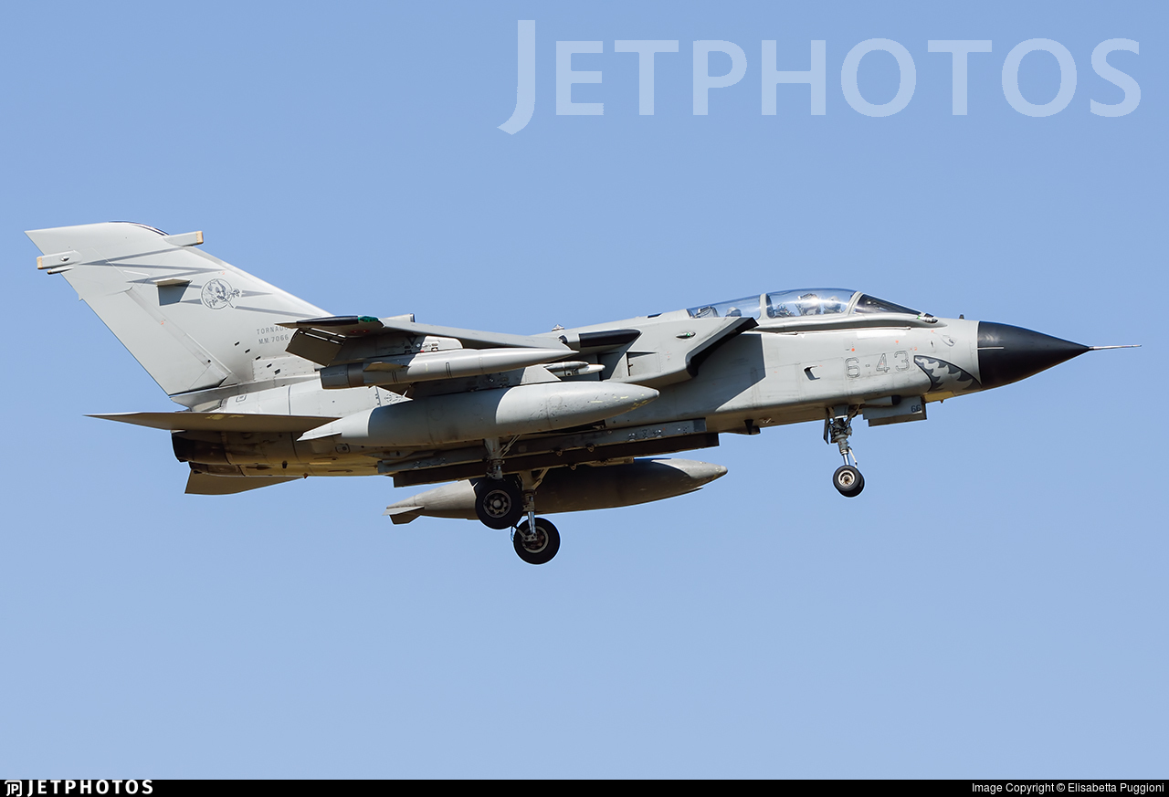 MM7066 - Panavia Tornado ECR - Italy - Air Force