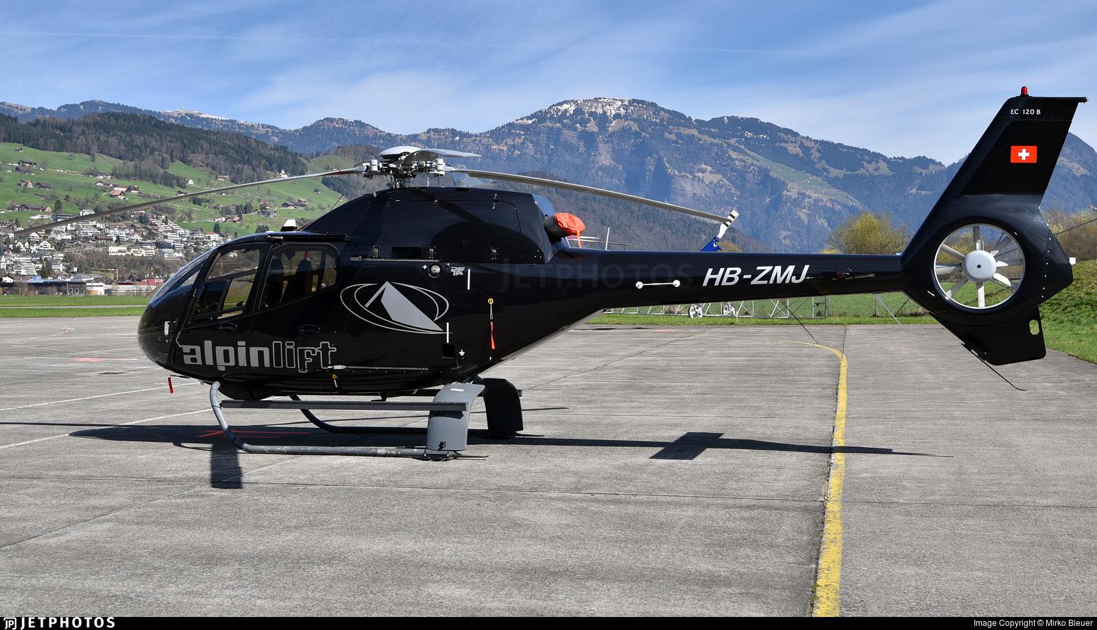 HB-ZMJ - Eurocopter EC 120B Colibri - Alpinlift