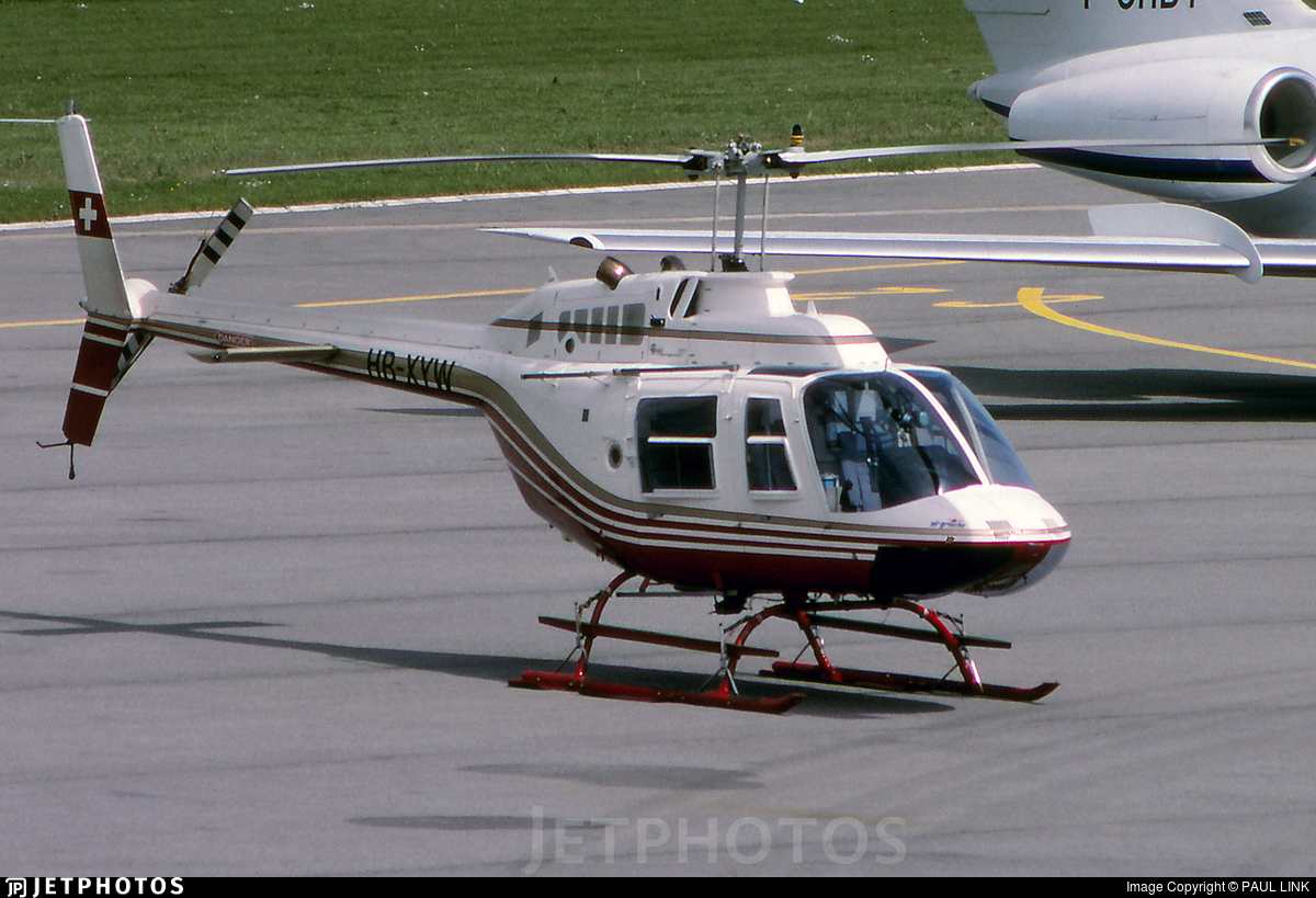 HB-XYW - Bell 206B JetRanger II - Private