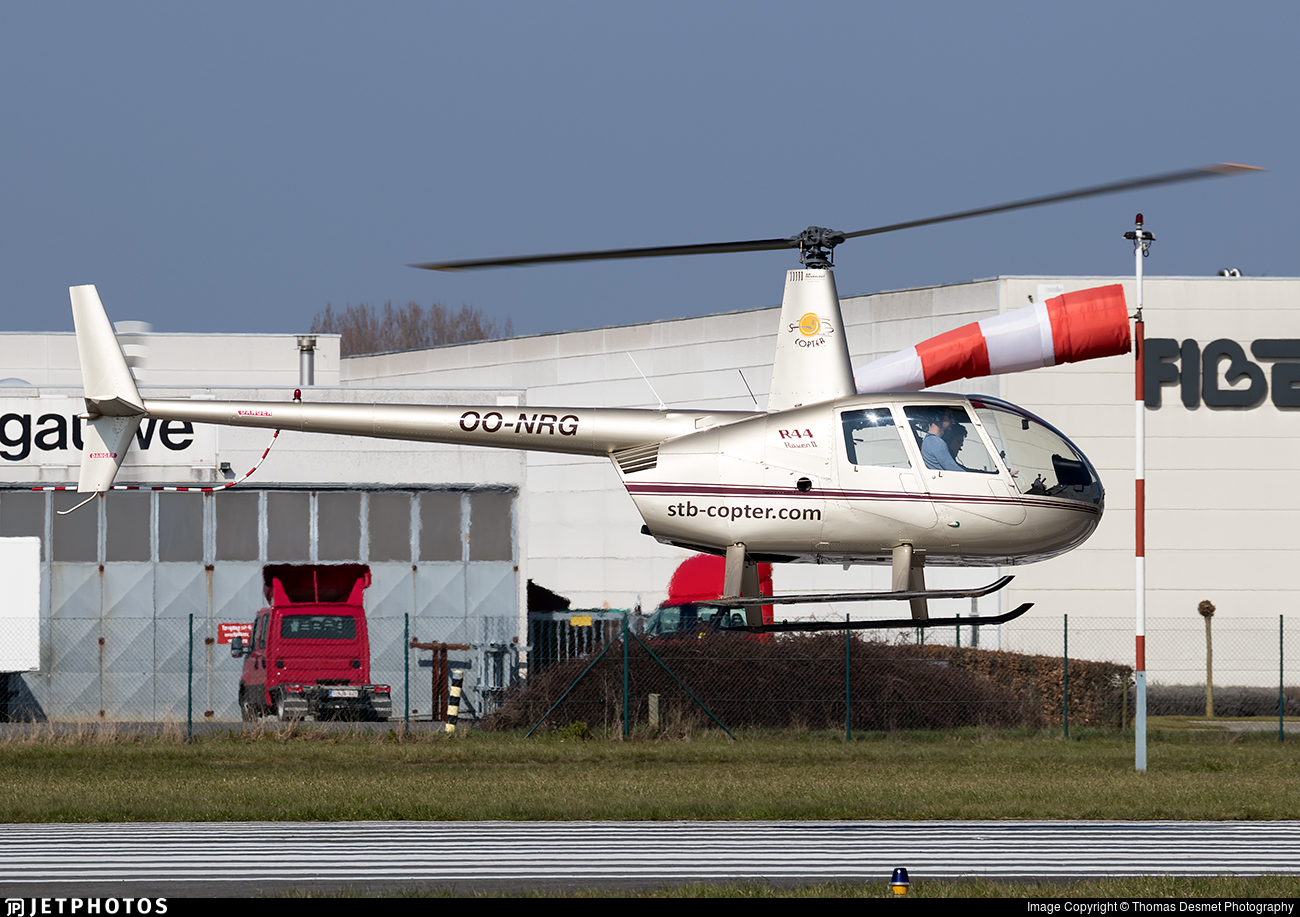OO-NRG - Robinson R44 Raven II - STB-copter