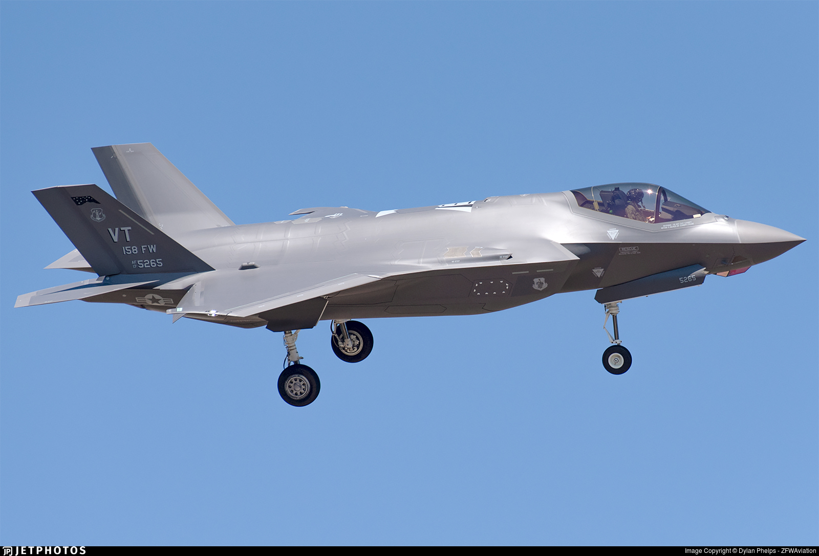 17-5265 - Lockheed Martin F-35A Lightning II - United States - US Air Force (USAF)