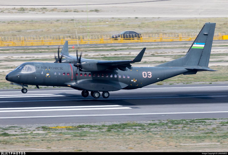 03 - Airbus C295W - Uzbekistan - Air Force