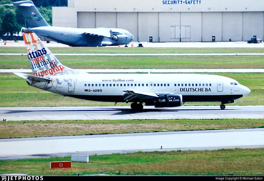 D-ADBO - Boeing 737-31S - Deutsche BA