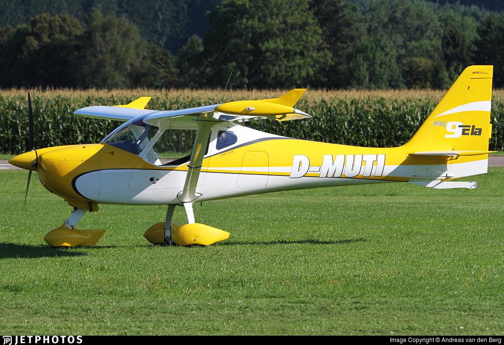 D-MUTI - FK Lightplanes FK9 ELA - Private