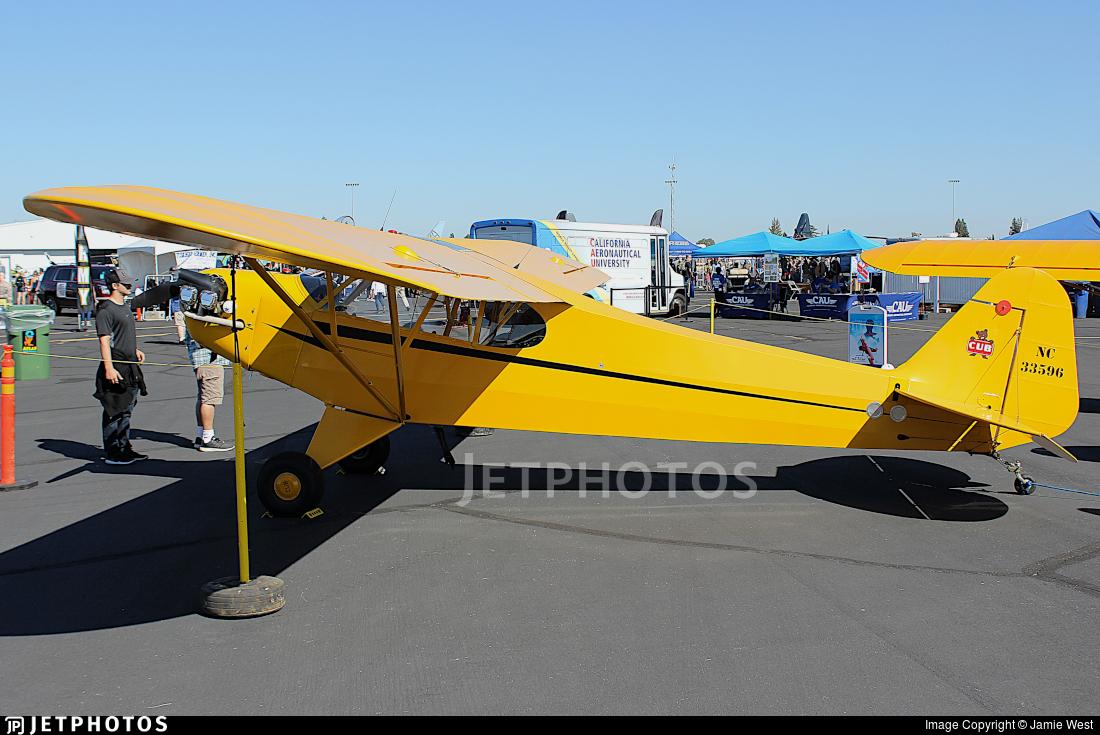 N33596 - Piper J-3C-65 Cub - Private