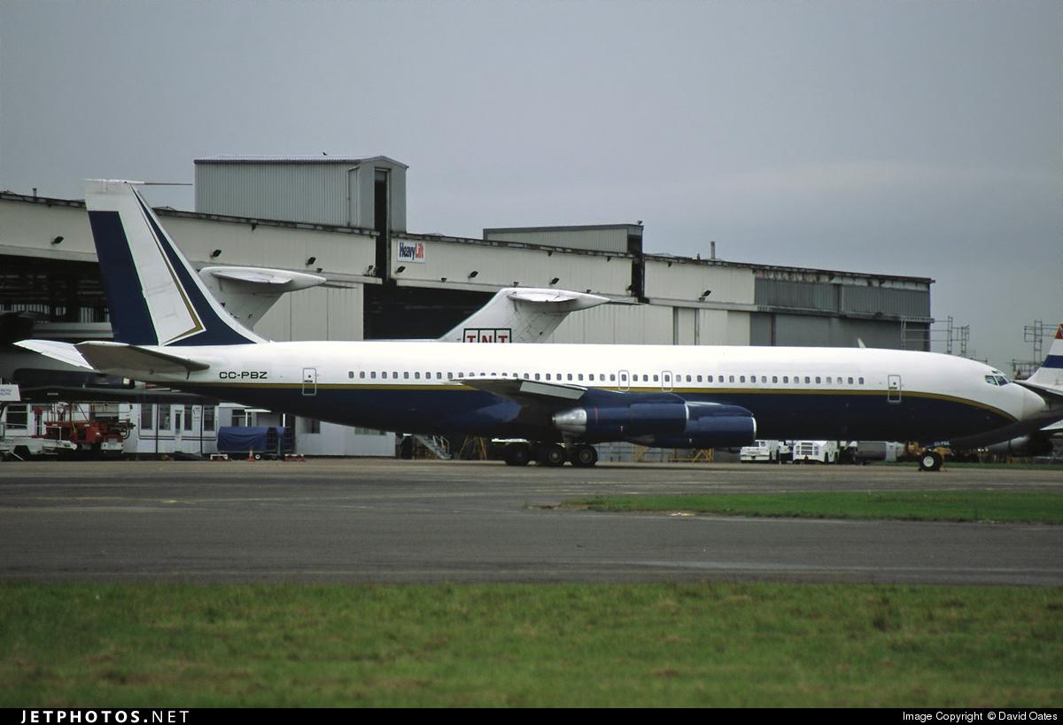 CC-PBZ - Boeing 707-321B - Private