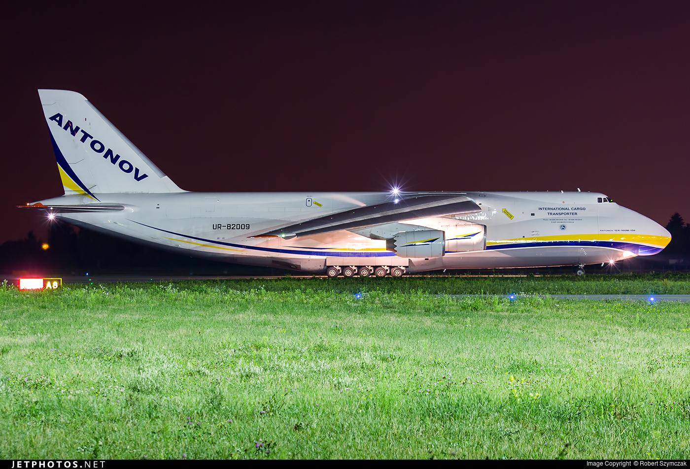 UR-82009 - Antonov An-124-100M-150 Ruslan - Antonov Airlines