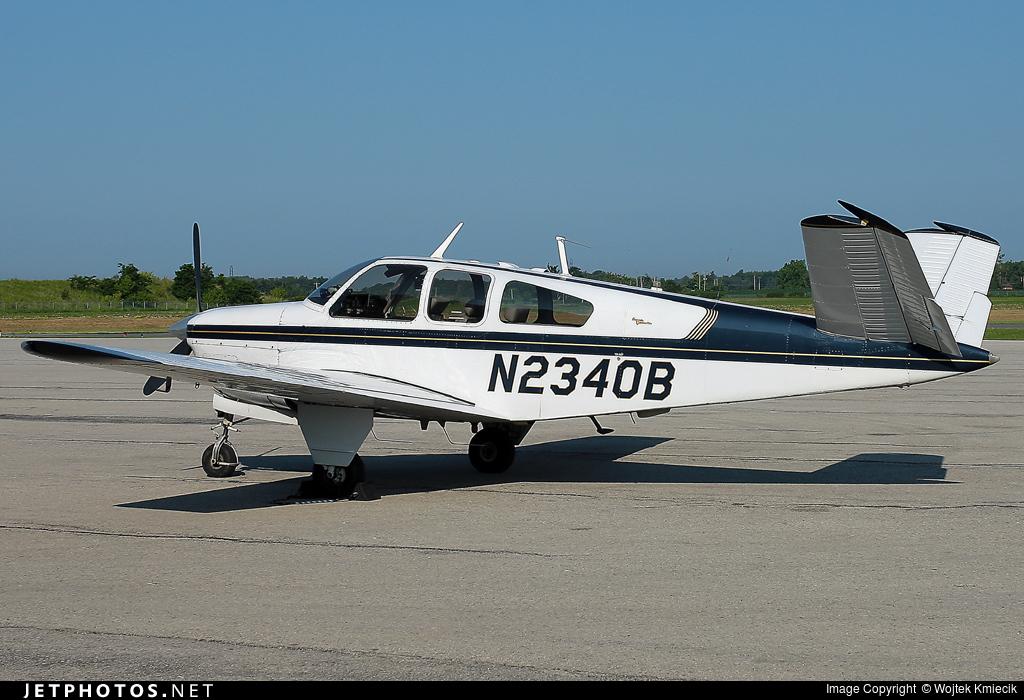 N2340B - Beechcraft S35 Bonanza - Private