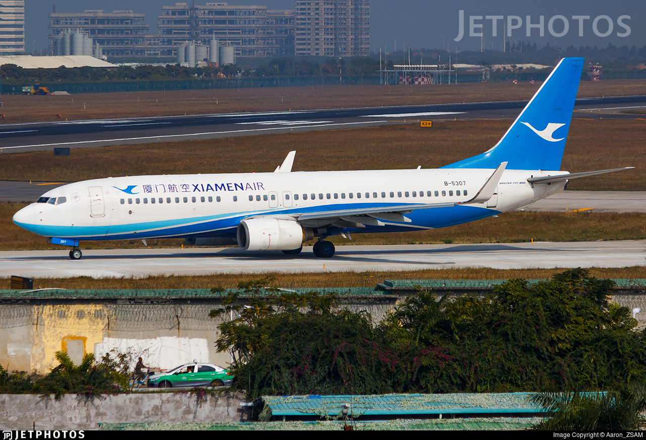 B-5307 - Boeing 737-85C - Xiamen Airlines