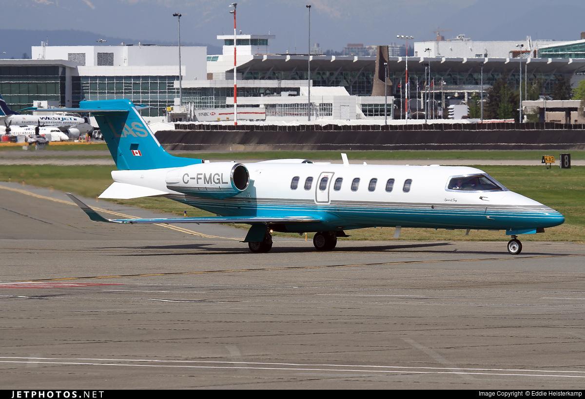 C-FMGL - Bombardier Learjet 75 - London Air Services