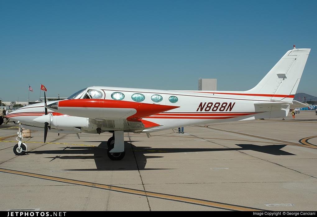 N888N - Cessna 340 - Private