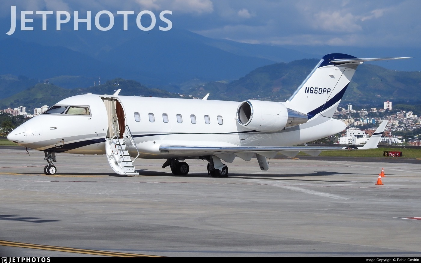 N650PP - Bombardier CL-600-2B16 Challenger 604 - Private