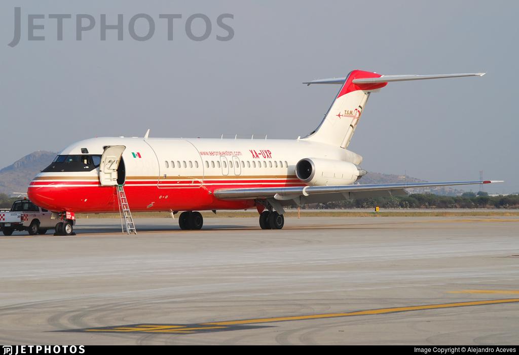 XA-UXP - McDonnell Douglas DC-9-15(F) - Aeronaves TSM