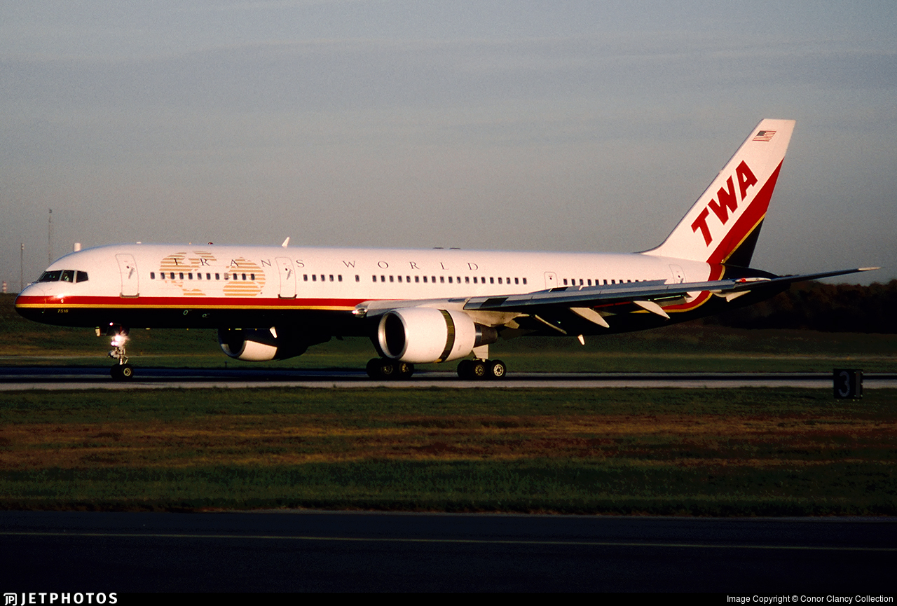 N716TW - Boeing 757-231 - Trans World Airlines (TWA)