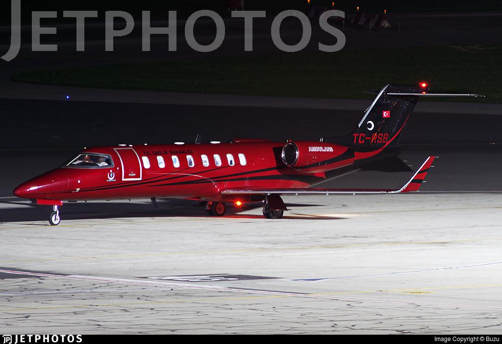 TC-RSB - Bombardier Learjet 45 - Turkey - Ministry of Health