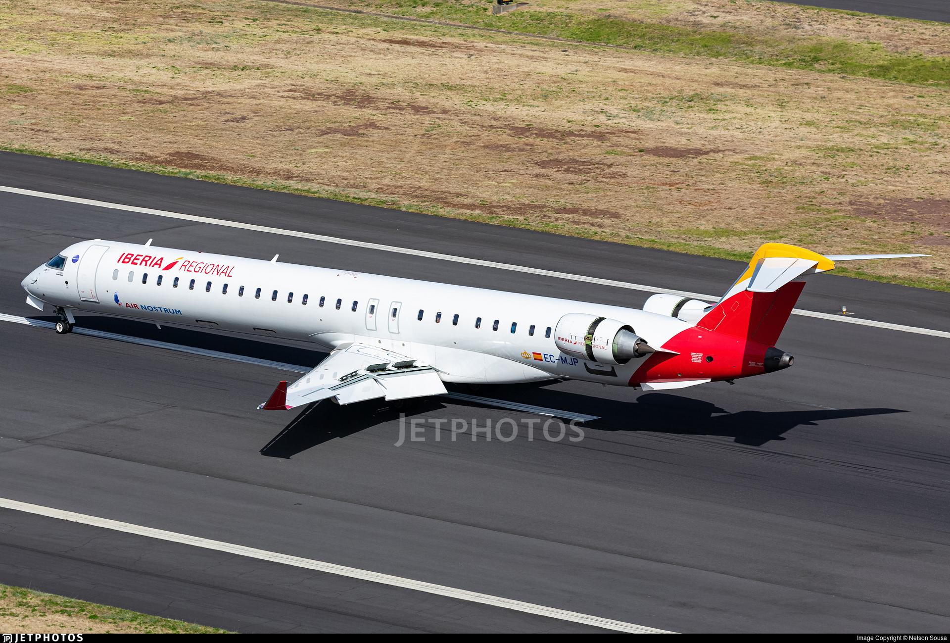 EC-MJP - Bombardier CRJ-1000 - Iberia Regional (Air Nostrum)
