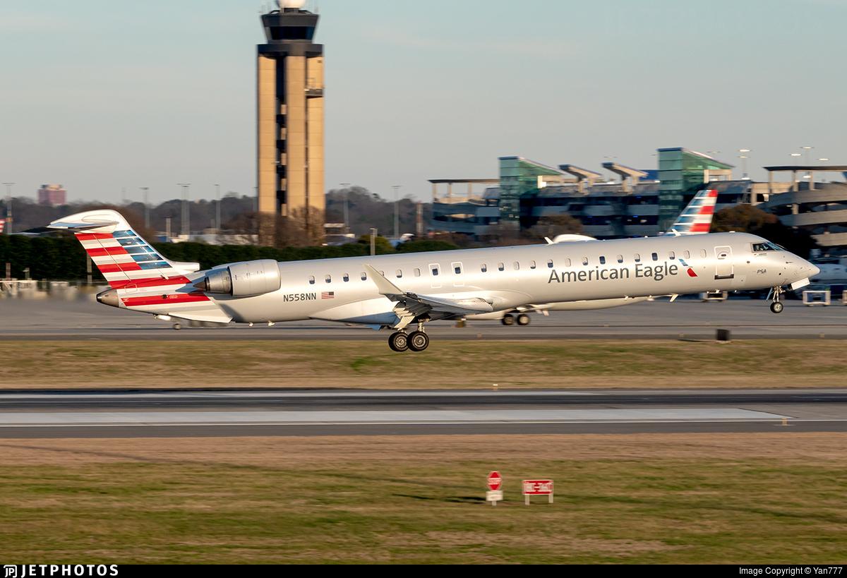 N558NN - Bombardier CRJ-900LR - American Eagle (PSA Airlines)