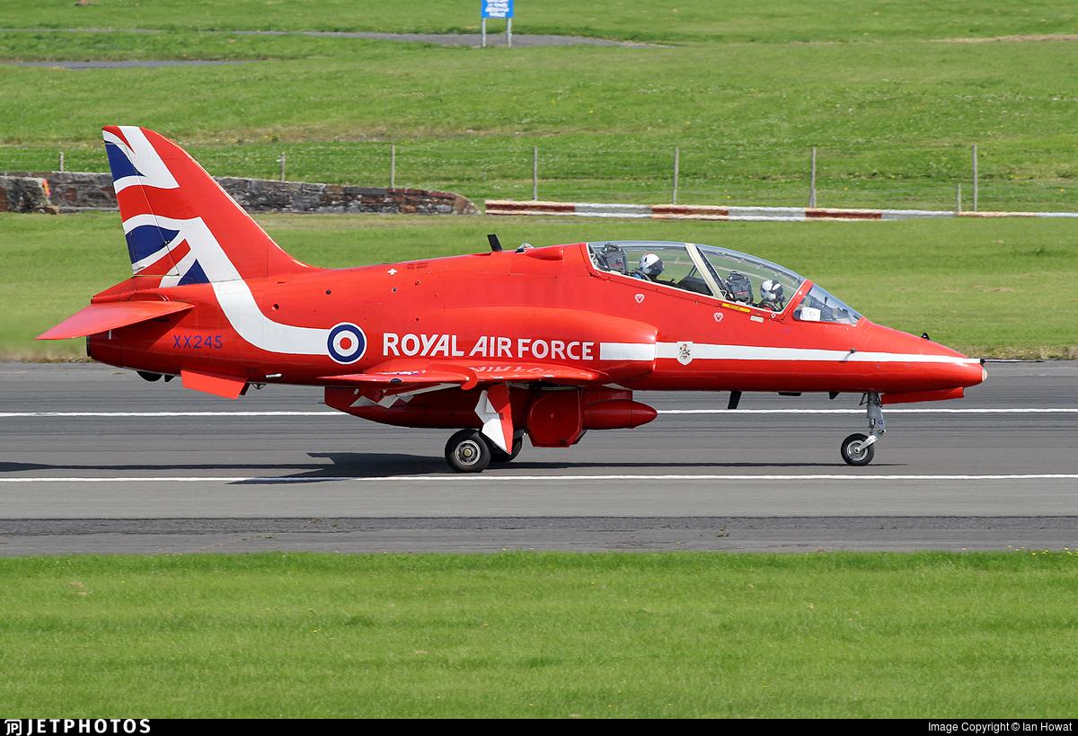 XX245 - British Aerospace Hawk T.1 - United Kingdom - Royal Air Force (RAF)