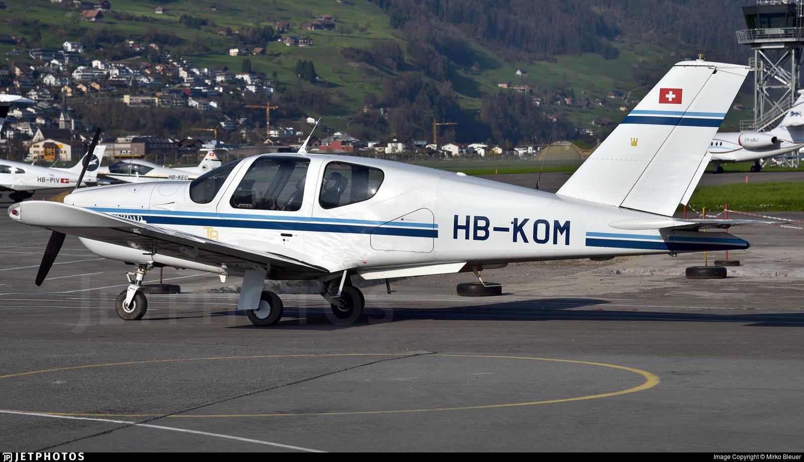HB-KOM - Socata TB-20 Trinidad - Private