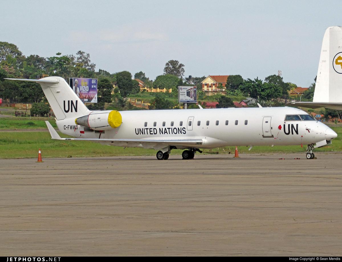 C-FWWU - Bombardier CRJ-200ER - United Nations (Voyageur Airways)