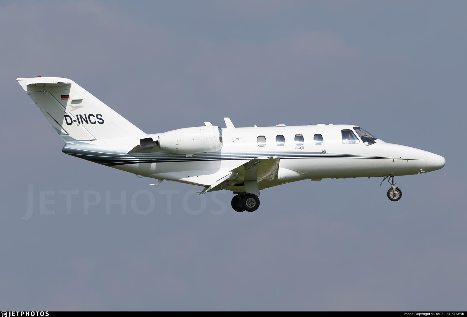D-INCS - Cessna 525 CitationJet 1 - JK Jetkontor