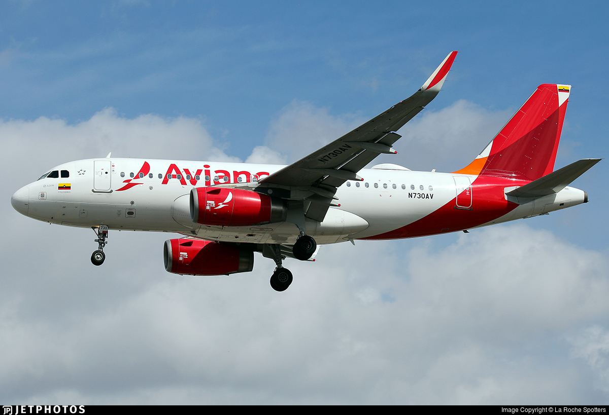 N730AV - Airbus A319-132 - Avianca