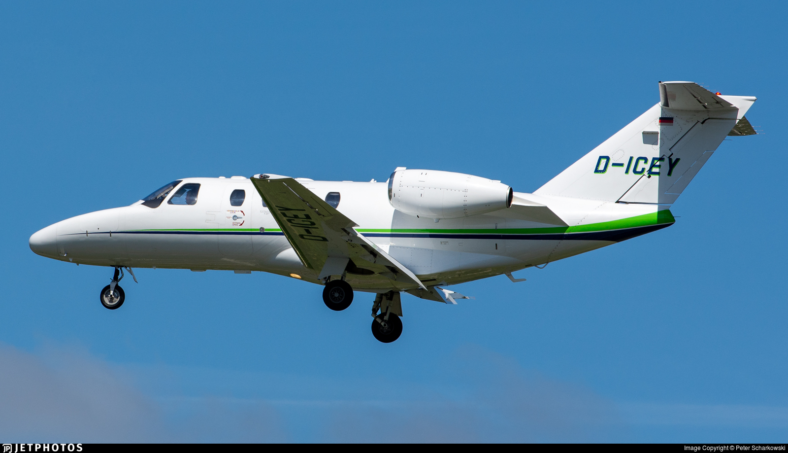 D-ICEY - Cessna 525 CitationJet 1 - Private