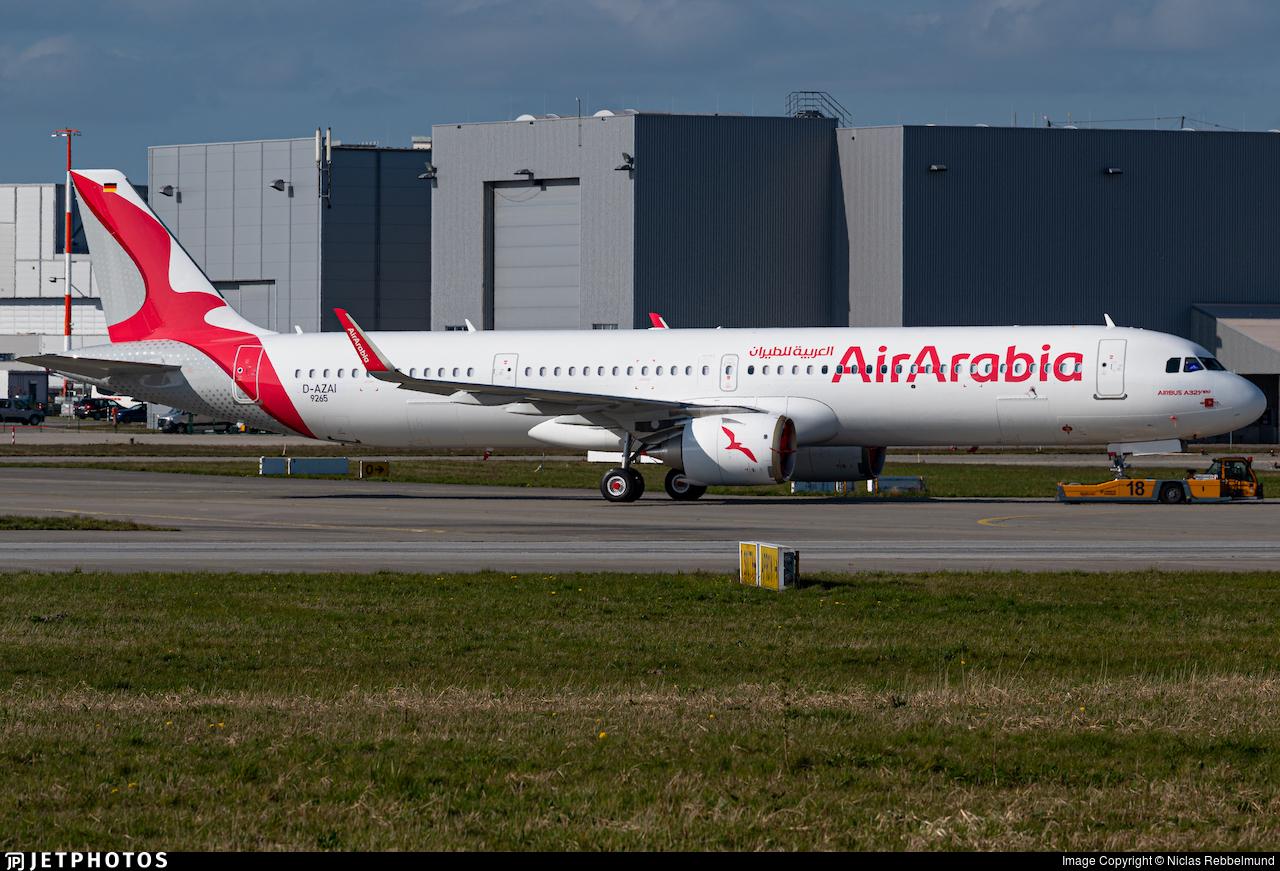 D-AZAI - Airbus A321-251NX - Air Arabia