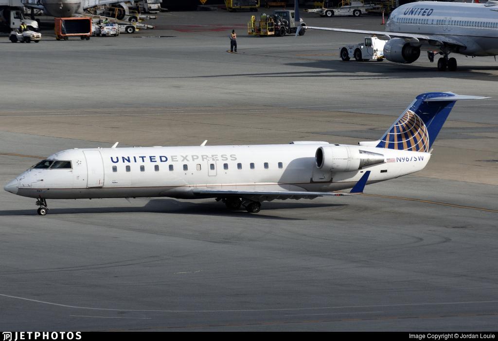 N967SW | Bombardier CRJ-200ER | United Express (SkyWest