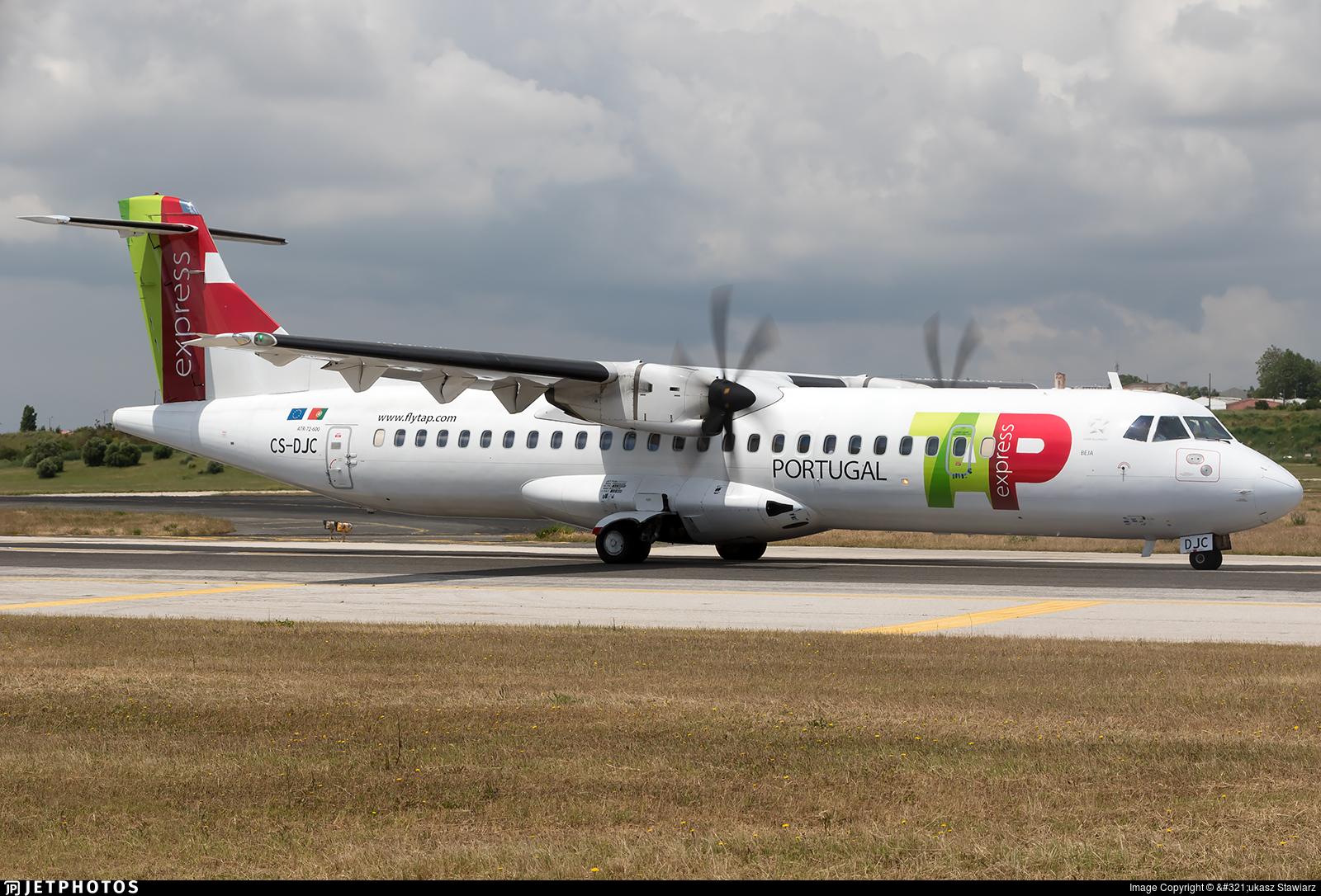 CS-DJC - ATR 72-212A(600) - TAP Express