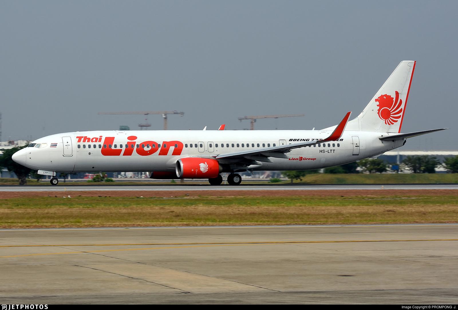HS-LTT - Boeing 737-9GPER - Thai Lion Air