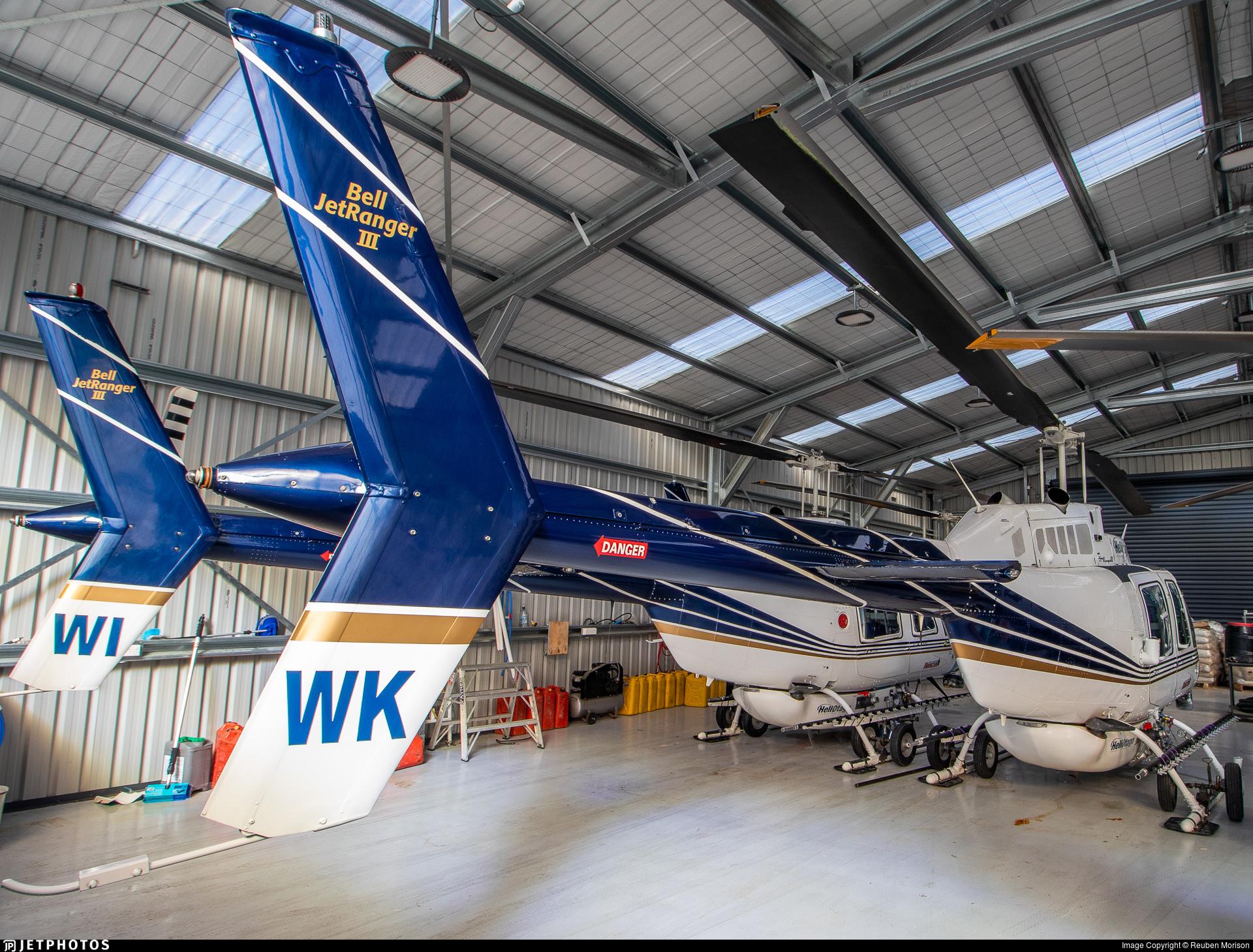ZK-HWK - Bell 206B JetRanger III - Helicopters Otago