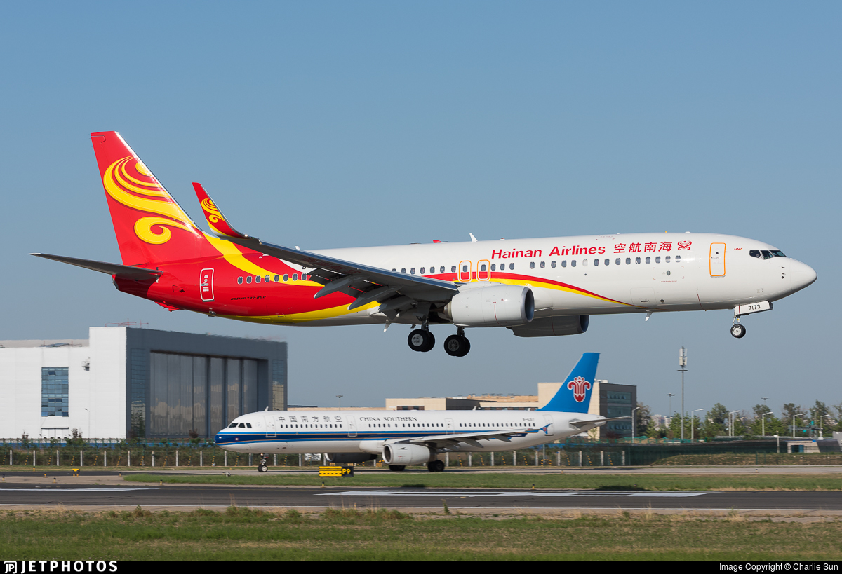 B-7173 - Boeing 737-86N - Hainan Airlines
