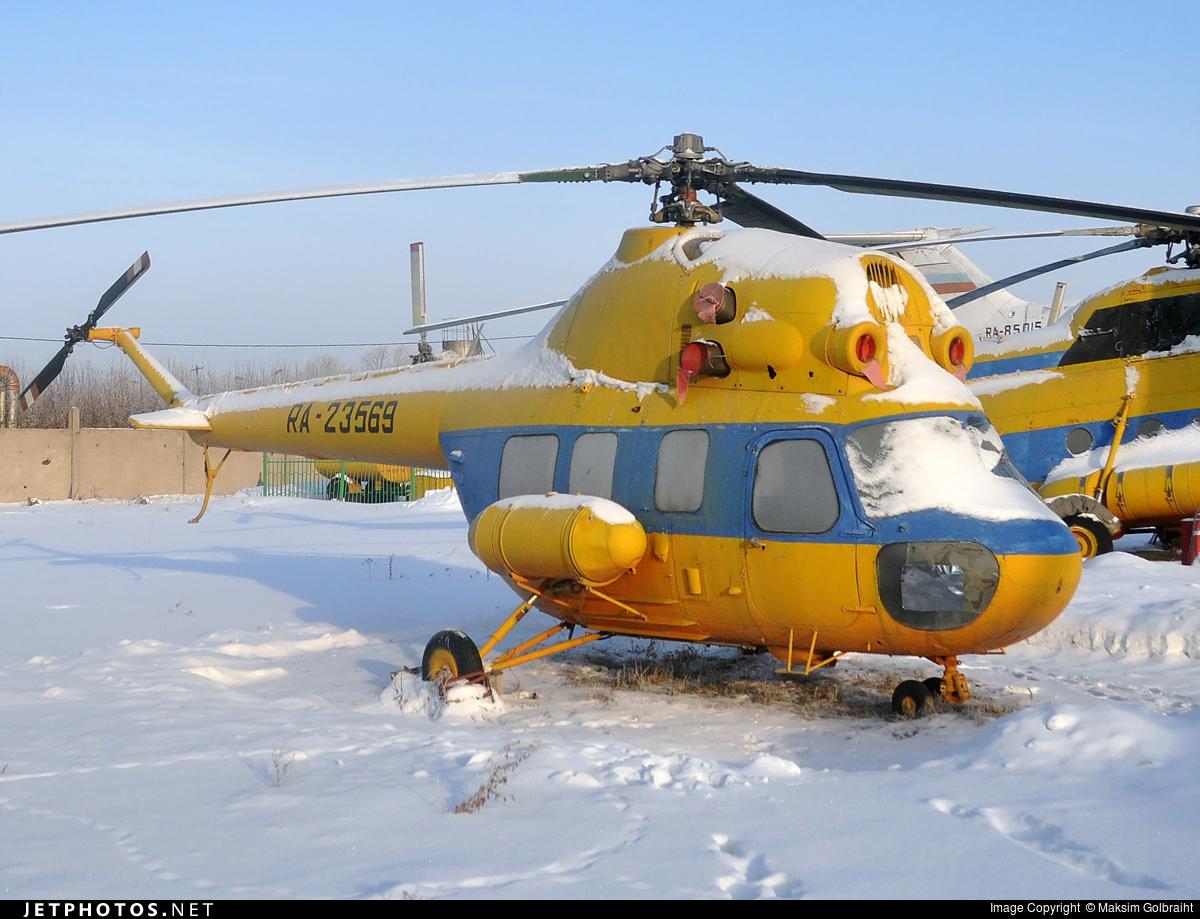 RA-23569 - PZL-Swidnik Mi-2SH Hoplite - Omsk Flight Technical College of Civil Aviation of A.V. Lyapidevsky