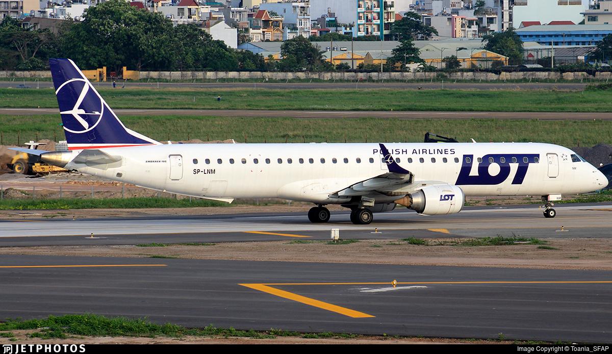 SP-LNM - Embraer 190-200IGW - LOT Polish Airlines