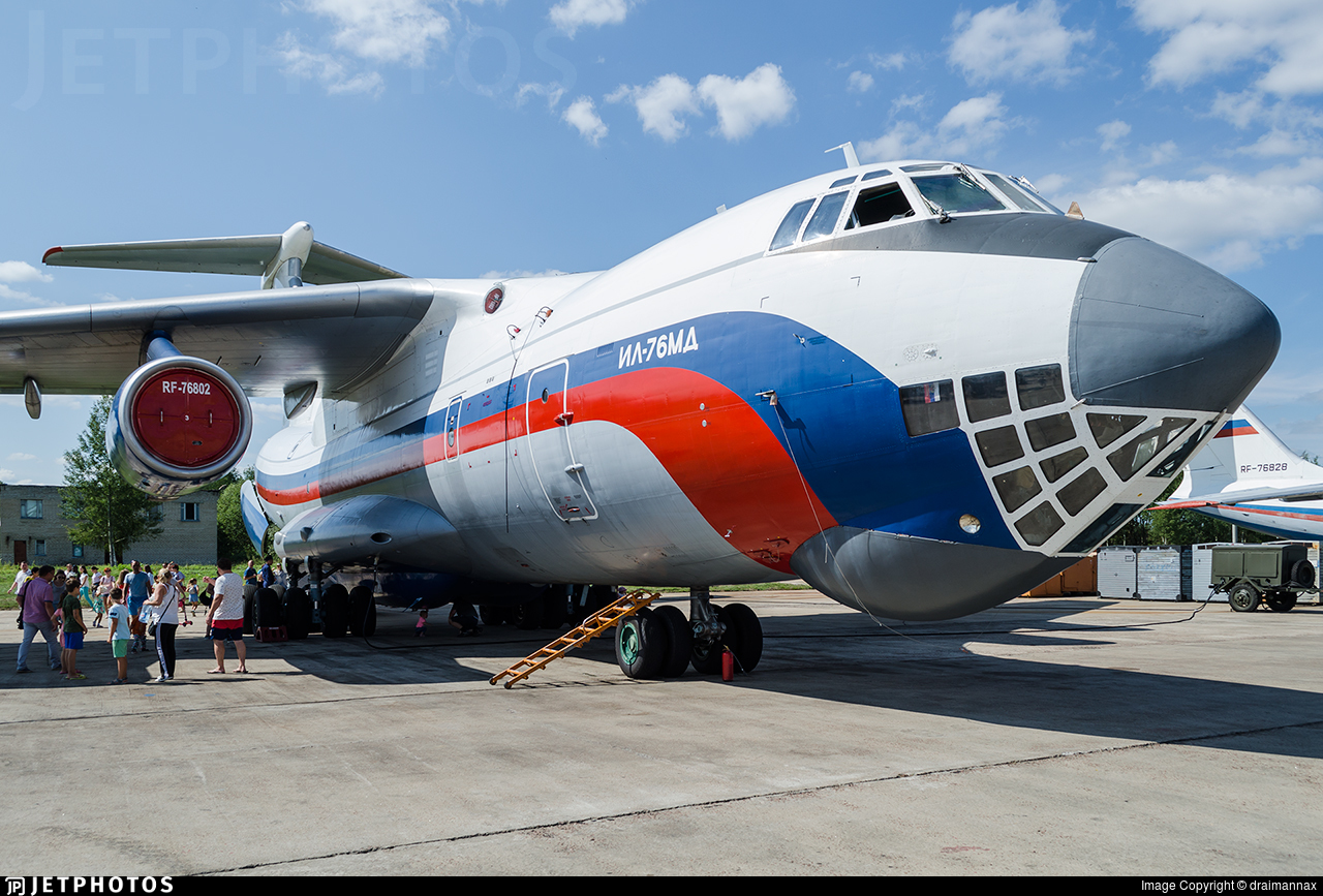 RF-76802 - Ilyushin IL-76MD - Russia - Ministry of Interior