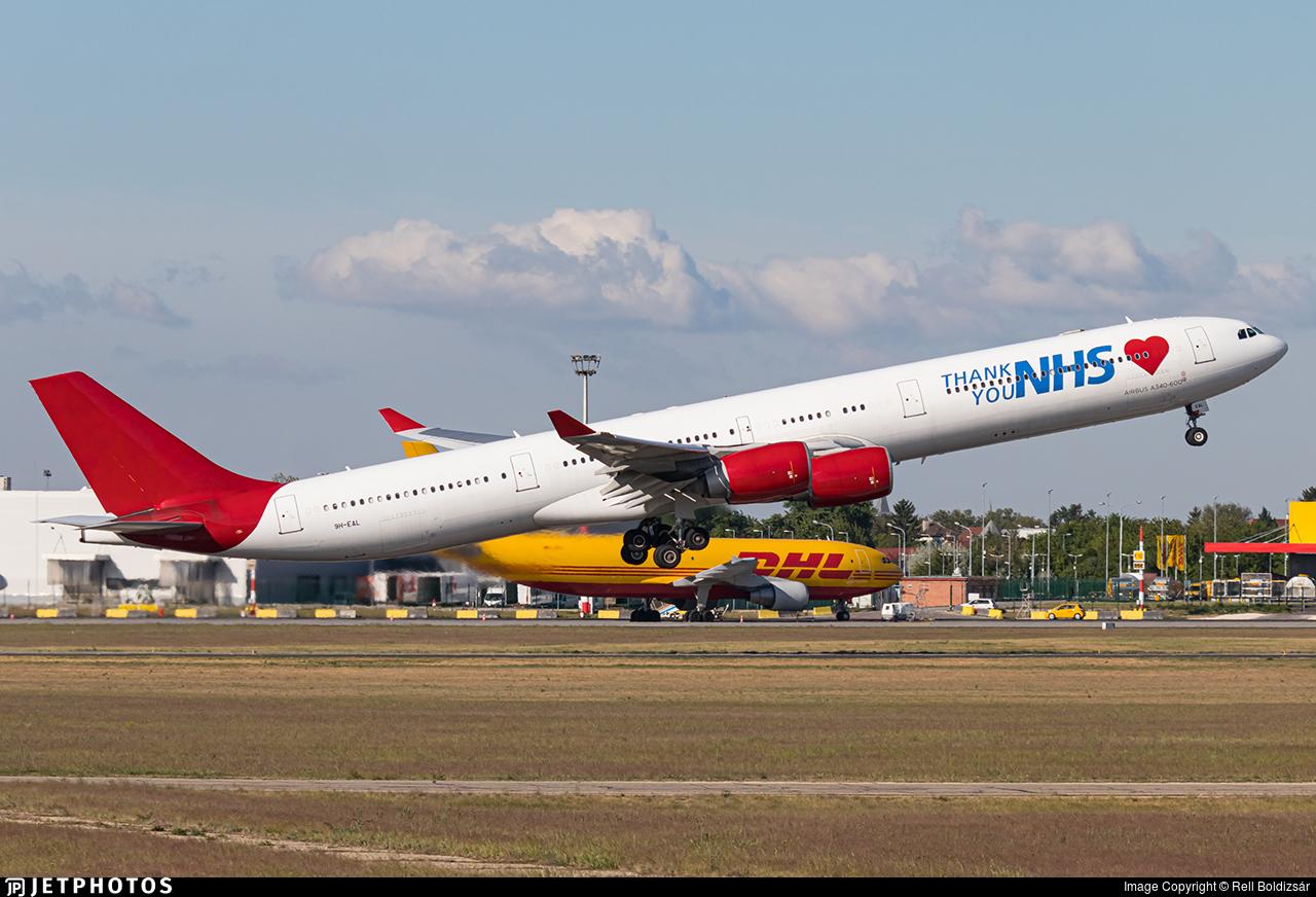 9H-EAL - Airbus A340-642 - Maleth Aero