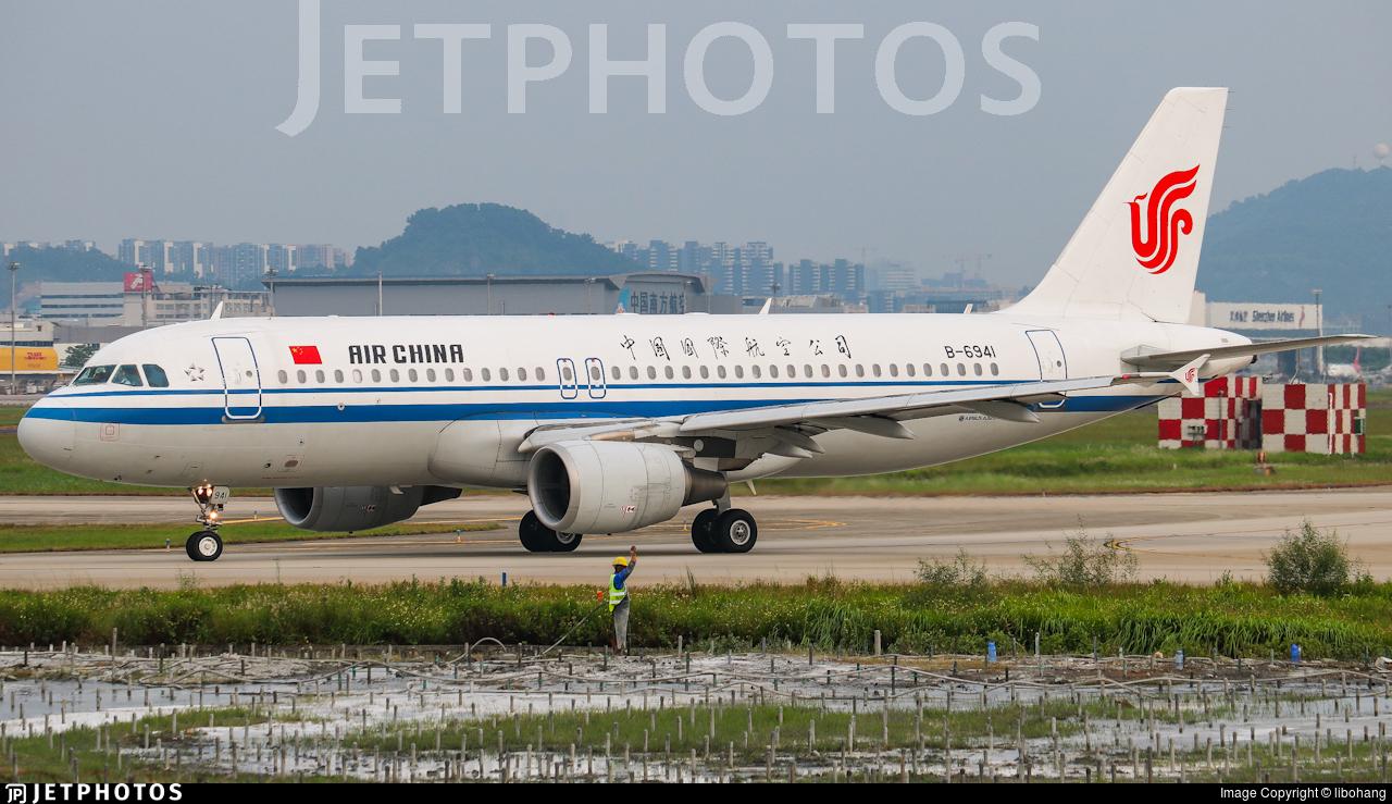 B-6941 - Airbus A320-214 - Air China