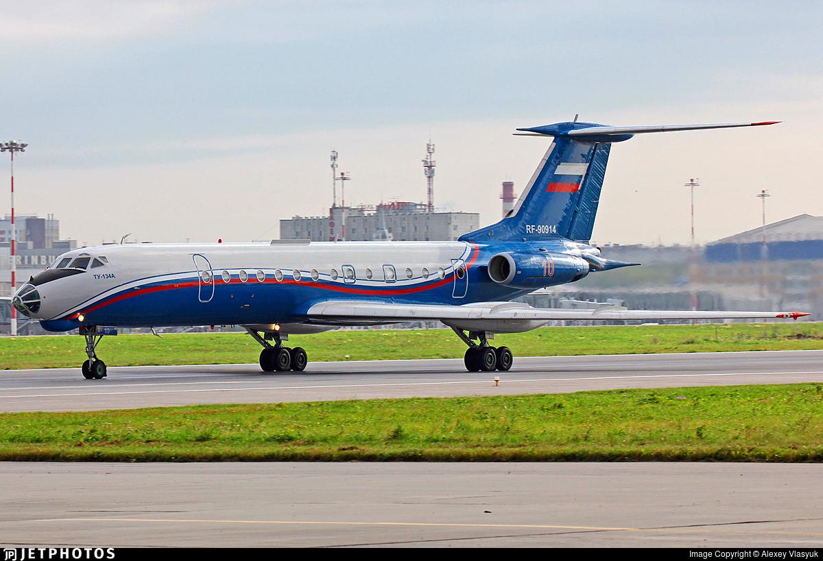 RF-90914 - Tupolev Tu-134AK - Russia - Air Force
